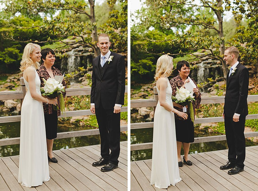 Alyssa Geralds Intimate Japanese Garden Wedding Plano Small Photographer Brandi Thompson Photography DFW Maternity Newborn