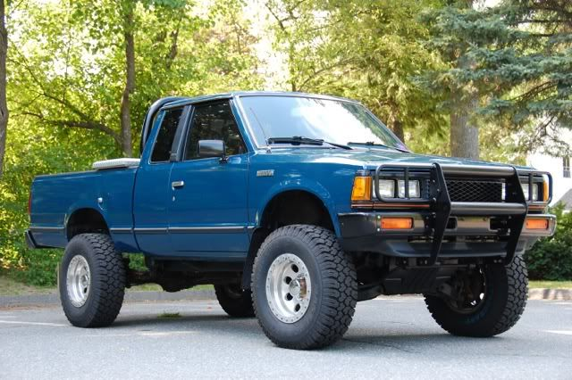 sure i will have this truck to the end nissan 720 trucks pinterest nissan 4x4 and nissan 4x4. Black Bedroom Furniture Sets. Home Design Ideas