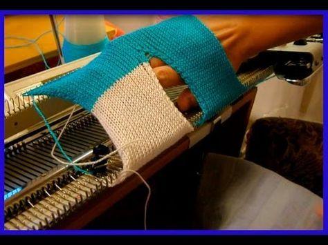 запетелинка машинное вязание видео бесплатно