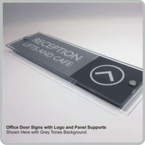 Office Door Signs With Logos Personalized Nameplates Sliding