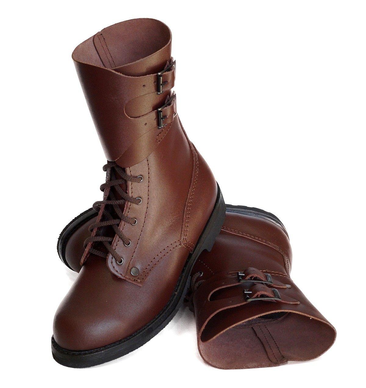 Brazowe Skorzane Buty Wojskowe Opinacze 29 Skora 4954710980 Oficjalne Archiwum Allegro Zapatos Botas