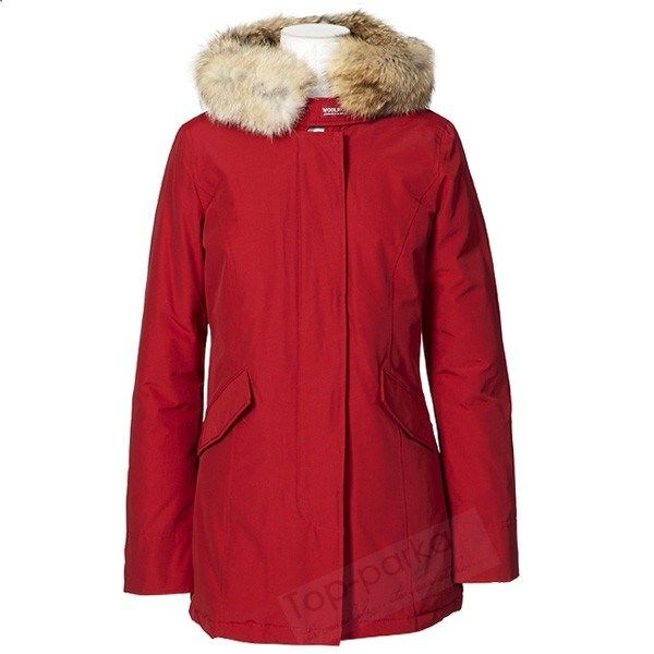 Classic Woolrich Arctic Parka Coat Donna Outlet Down Giacche Red 255 30 Modello Xj20141115 1306 Runway Fashion Winter Jackets Winter Jackets Women Coat