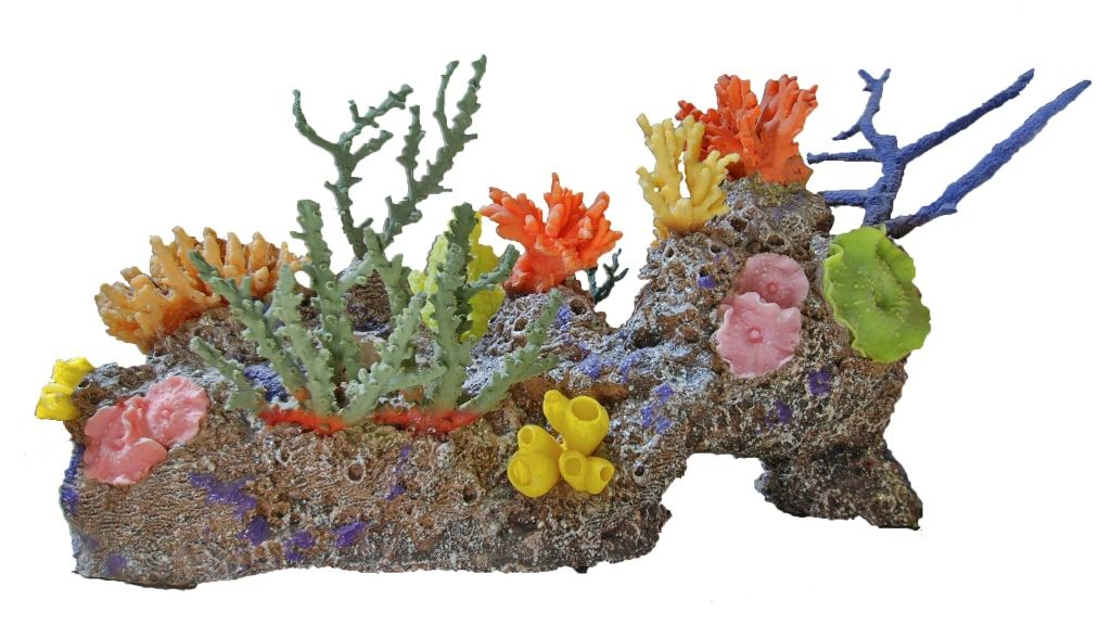 Artificial coral artificial reef large eel cave for Artificial coral reef aquarium decoration inserts