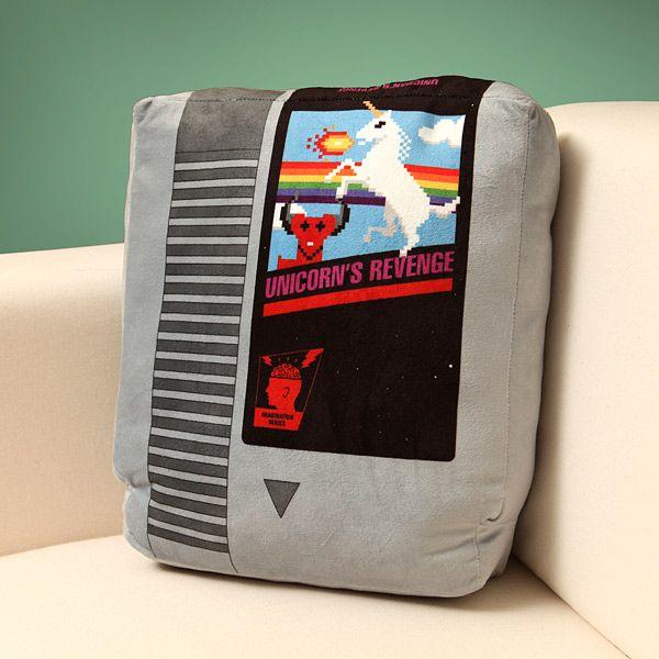 NES Game Cartridge Pillows