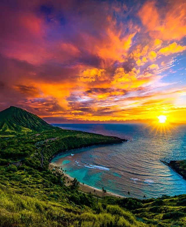Peaceful Places In Hawaii: Hanauma Bay, Oahu, Hawaii