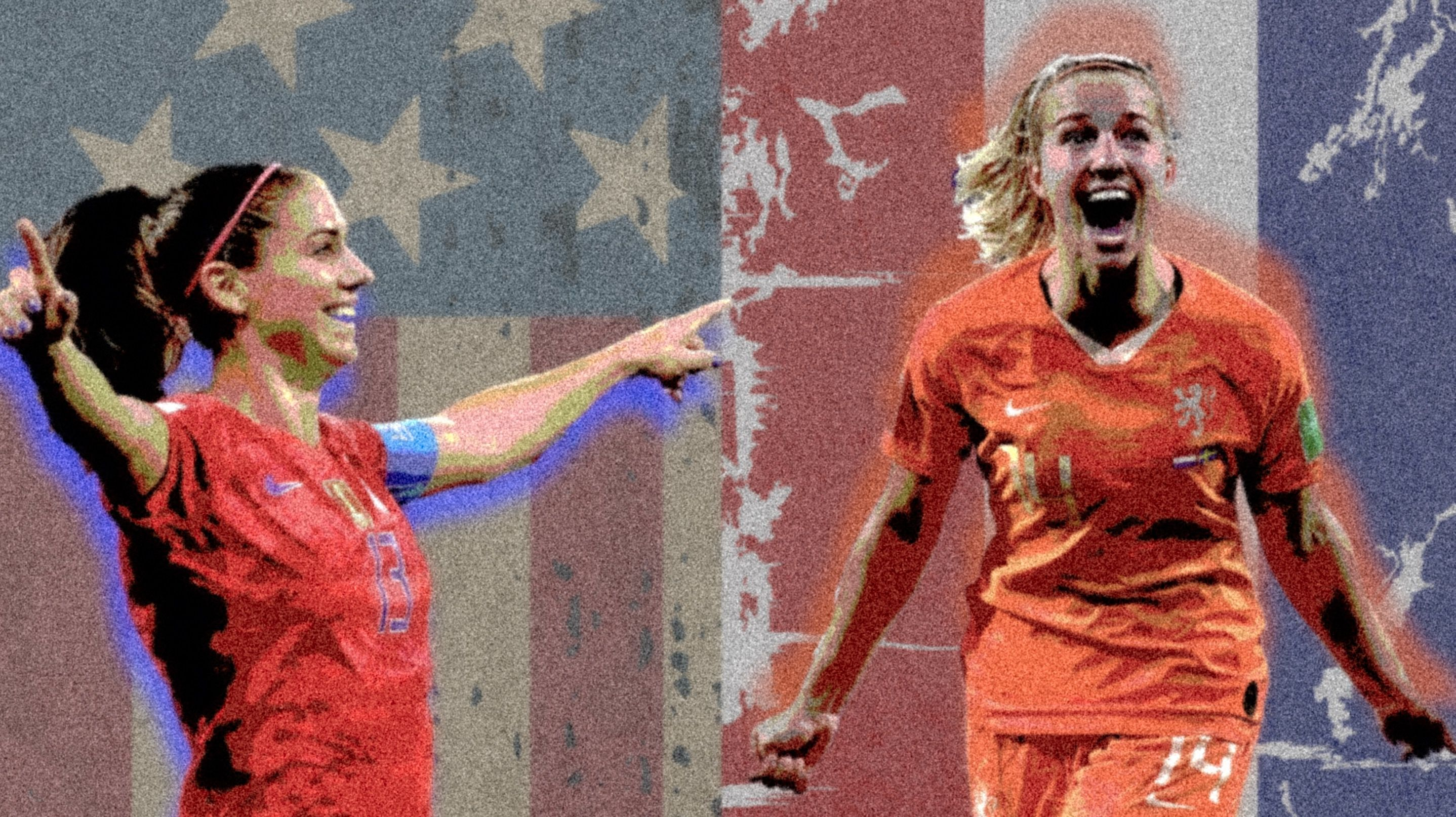 Uswnt Vs Netherlands 2019 Fifa Women S World Cup France Result Usa Won The Final 2 0 Photo Alex Morgan Usa And Jackie Groenen Netherlands