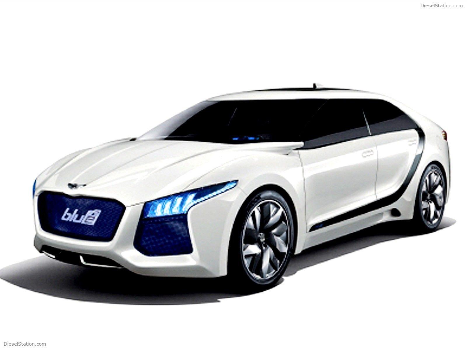 Hyundai Blue2 HND Concept Exotic Car Concept Vehicles