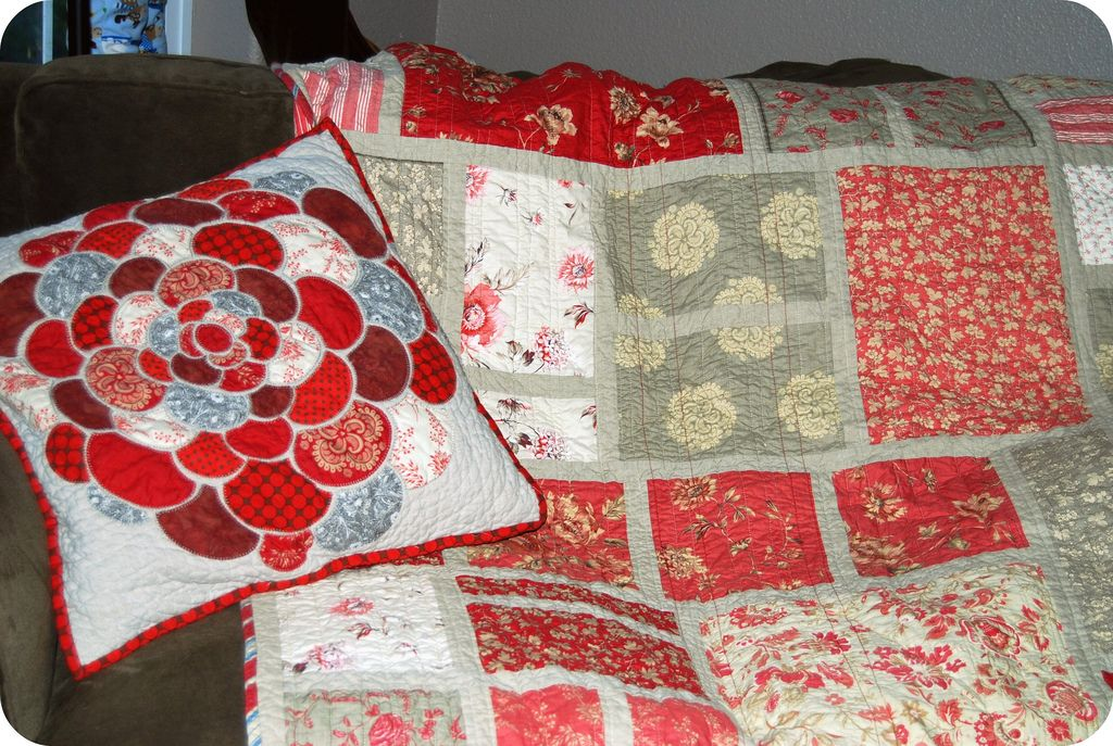 new quilt with its mate | Flickr - Photo Sharing!