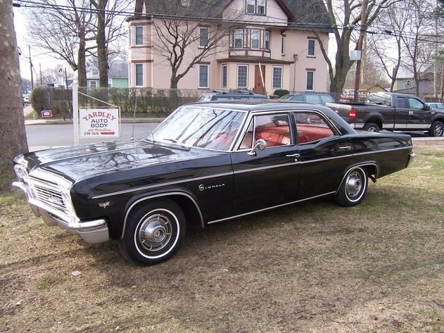 My Car 1966 Chevy Impala 4 Door Tuxedo Black With Red Interior