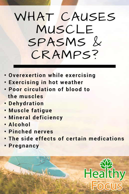 12 Essential Oils for Muscle Spasms and Cramps What causes Muscle Spasms and Cramps