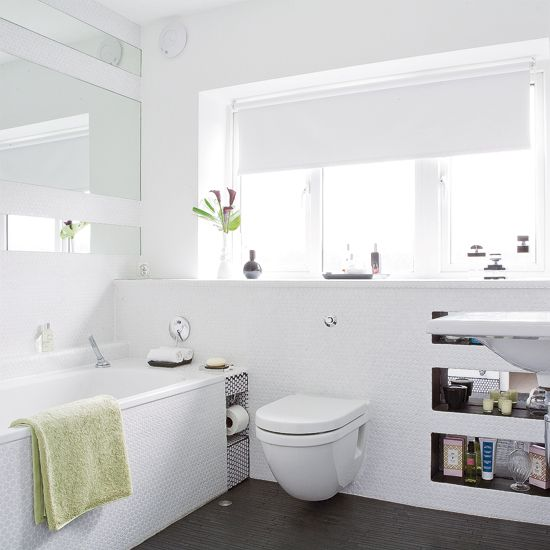 Looking For Bathroom Decorating Ideas Such As How To Use Textured Tiles Take A Look At The Housetohome Co Uk Galleries Inspirational