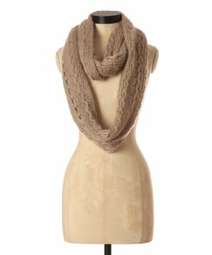Kismet cable knit eternity scarf-Bootleggar