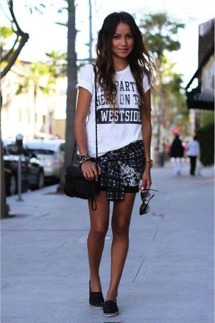 Miss Coquete: Trending: Saia e T-shirt