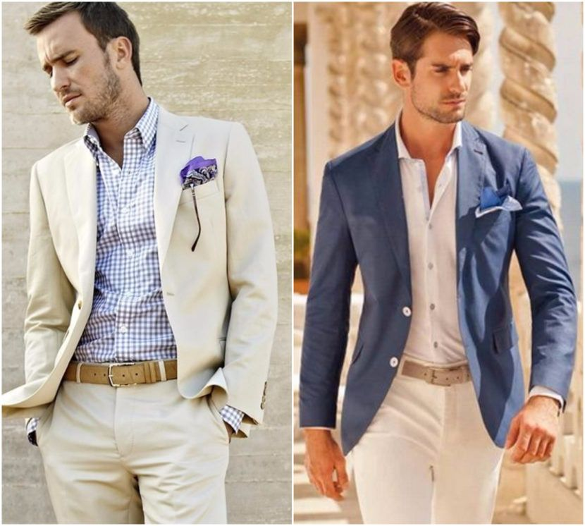 Wedding Hairstyle For Man: How To Dress For A Summer Wedding: Men's Style Guide