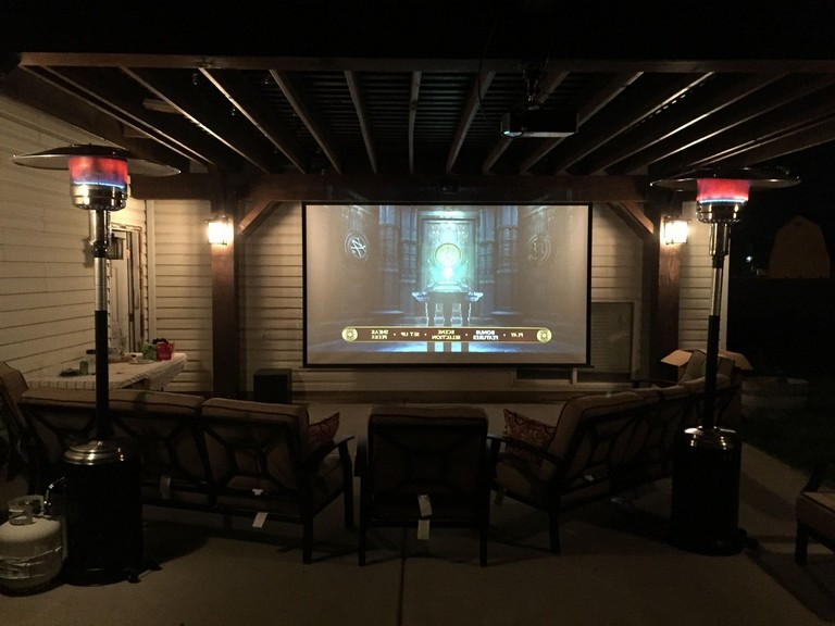 30+ Best Build a backyard movie theater with these DIY
