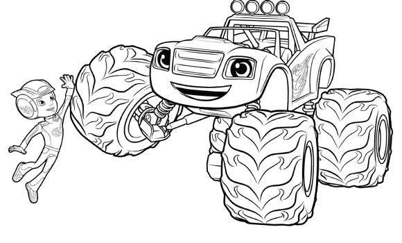 Blaze And The Monster Machines Coloring Pages Google Search Monster Truck Coloring Pages Truck Coloring Pages Nick Jr Coloring Pages