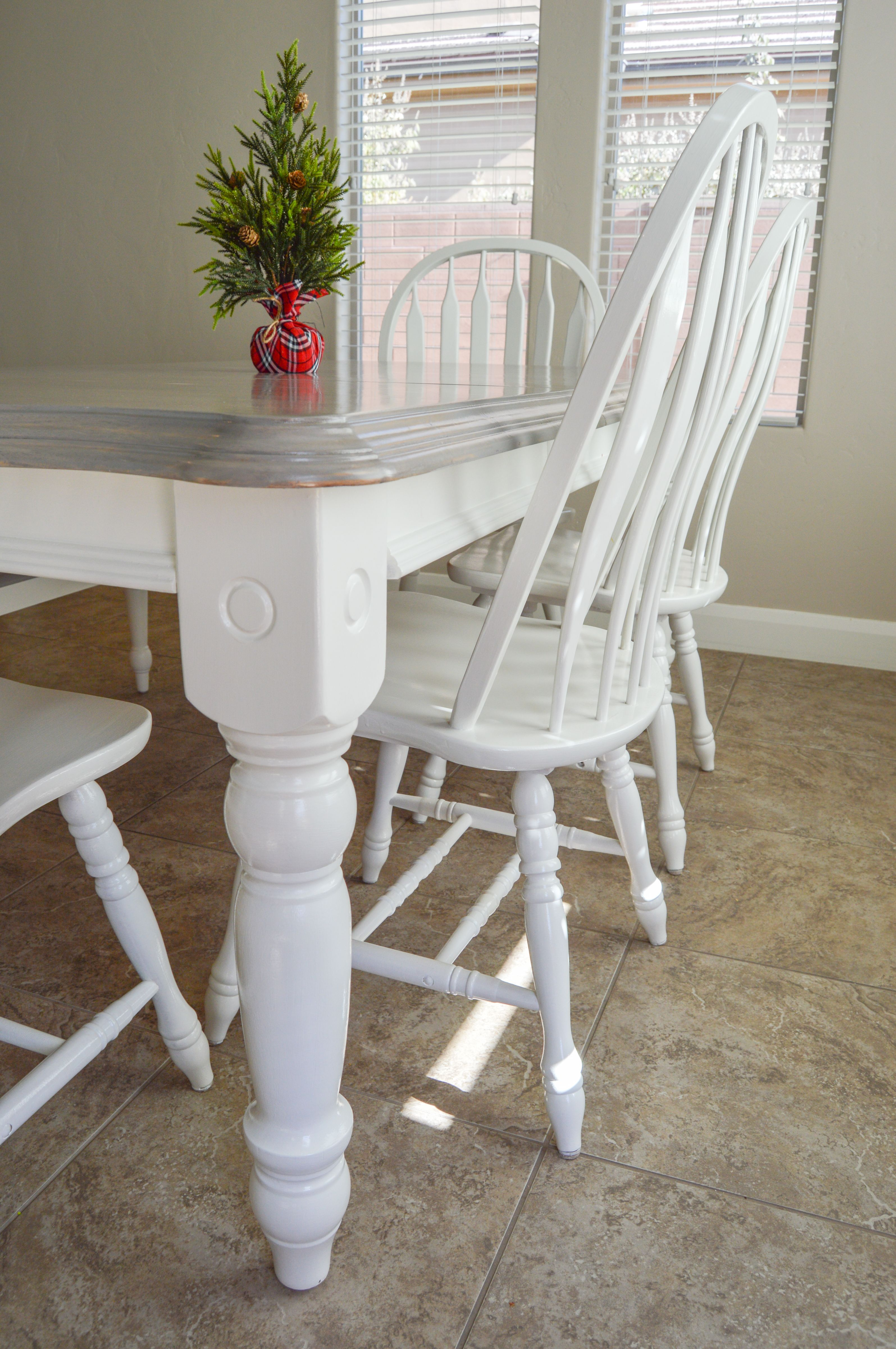 Diy Grey Paint Wash Dining Table Chairs Dining Room Table Makeover Painted Dining Room Table Diy Dining Room Table