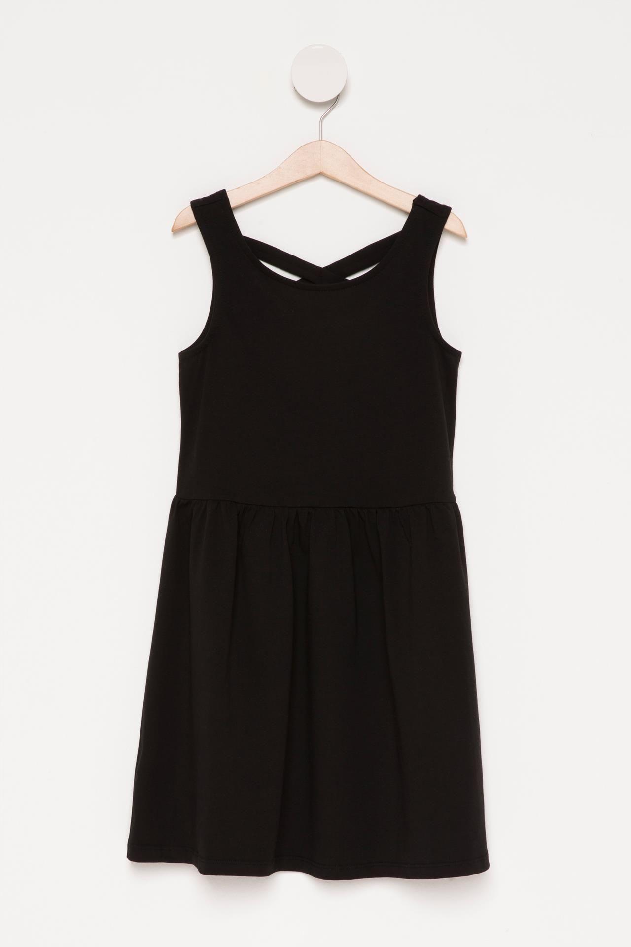 Siyah Genc Kiz Genc Kiz Elbise 748968 Defacto Moda Elbise Kadin