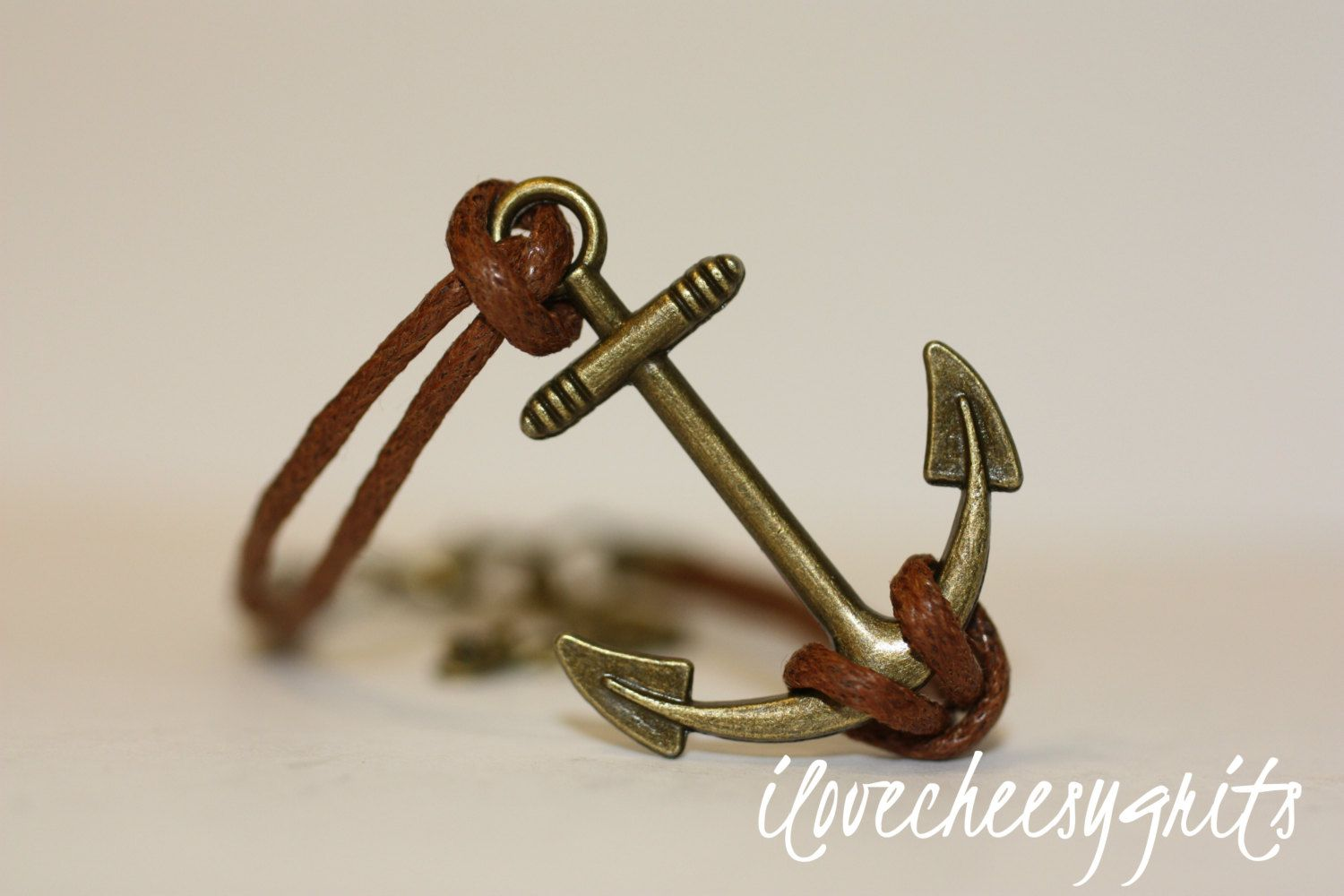 LONGING~ Handmade Bracelet Brown Leather Multilayer Bracelet Anchor Charm Bracelet Bridesmaid Gift Wedding Jewelry Nautical ilovecheesygrits by ilovecheesygrits on Etsy https://www.etsy.com/listing/239959457/longing-handmade-bracelet-brown-leather