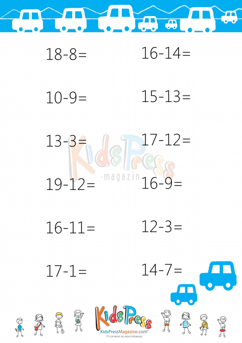 Subtraction Drills For 2nd Grade 4 Pinterest Worksheets