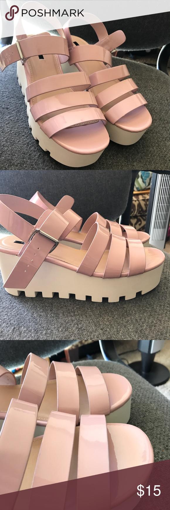 Forever 21 platform sandals So trendy