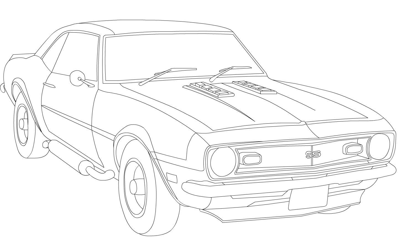1969 chevrolet camaro | Chevy Camaro WIP by ~Dragonsrule-89 on ...