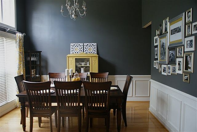 Maybe For Accent Wall Living Room Paint Color Behr Dark Ash