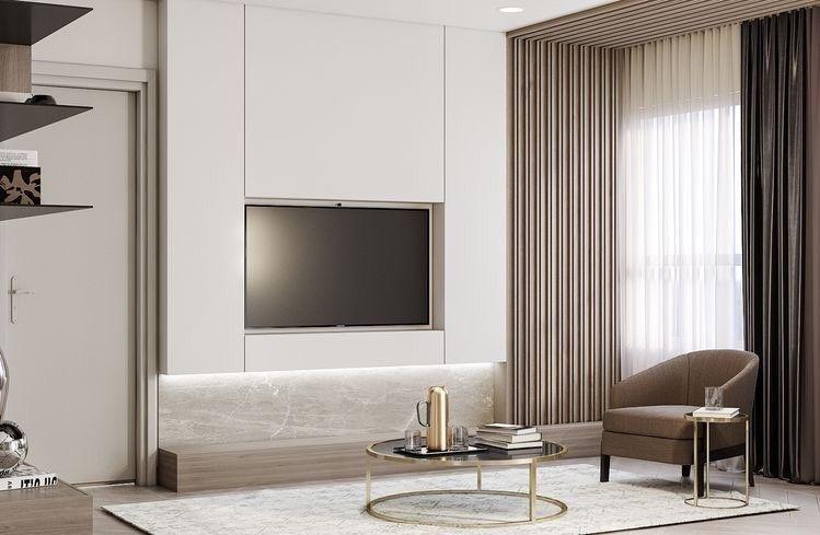 • 거실인테리어 수납과 인테리어를동시에! Tv Wall Design