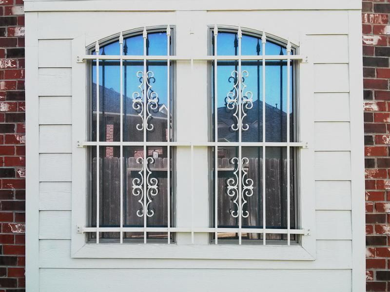 Decorative Security Bars For Windows