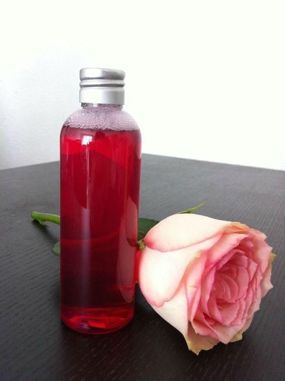 Eau micellaire Rose & Jasmin - Bakery, Home-made & Bio   Micellaire, Produits de beauté et ...