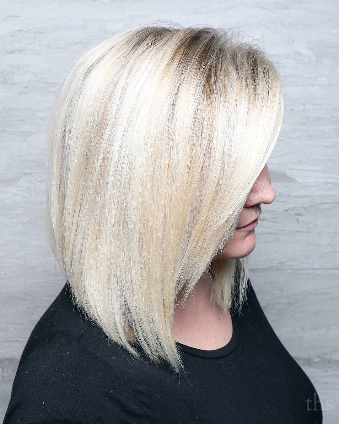 Cute cut and perfect blonde by ilikeyourbangsdotcom this is how