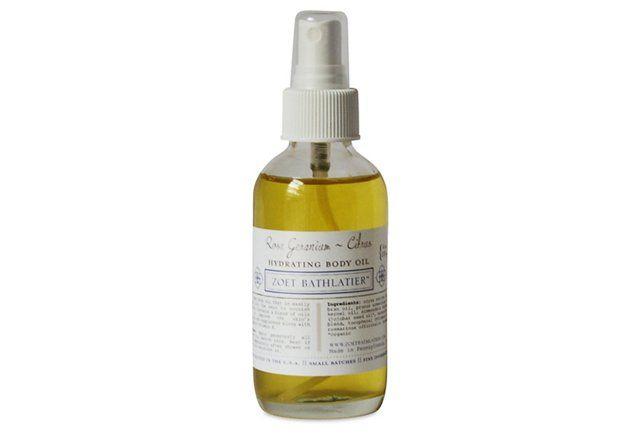 Body Oil, Rose/Geranium/Citrus