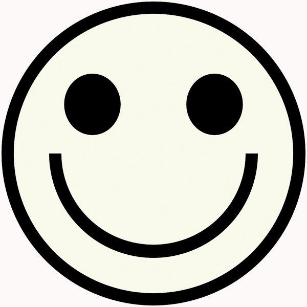 afbeeldingsresultaat voor smiley zwart wit emoticon
