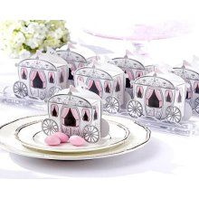 Carriage favor boxes for candy