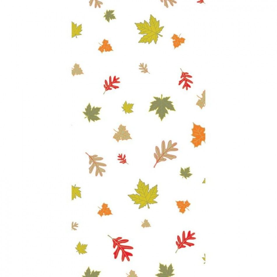Large Autumn Treat Bags With Twist Ties (BULK Case Of 240