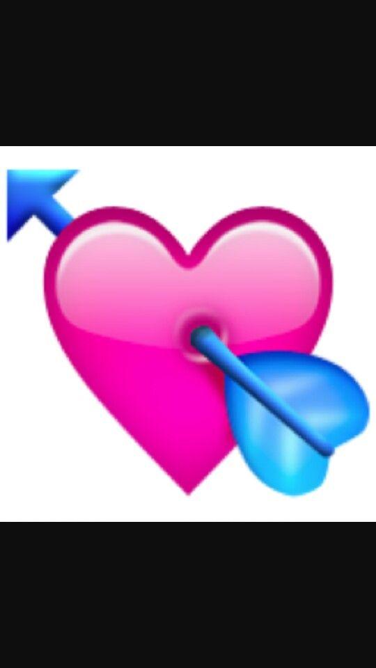 Pin By Em Rivera On Emoij Heart With Arrow Emoji Emoji Tattoo