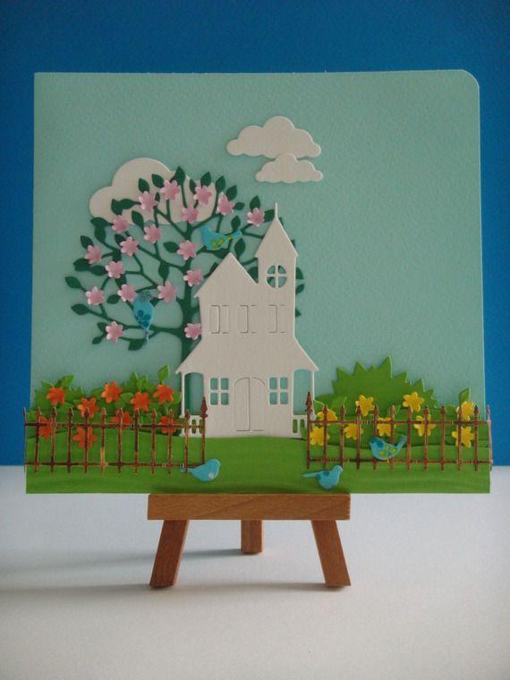 Kit carte le jardin fleuri à réaliser vous même