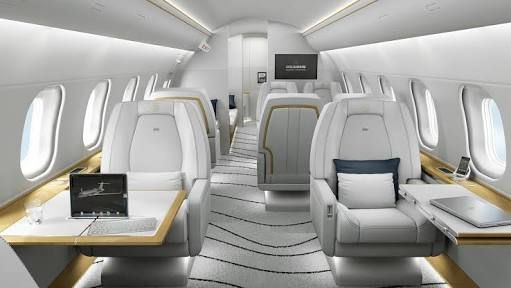 plane interior sky view pinterest private jet aircraft
