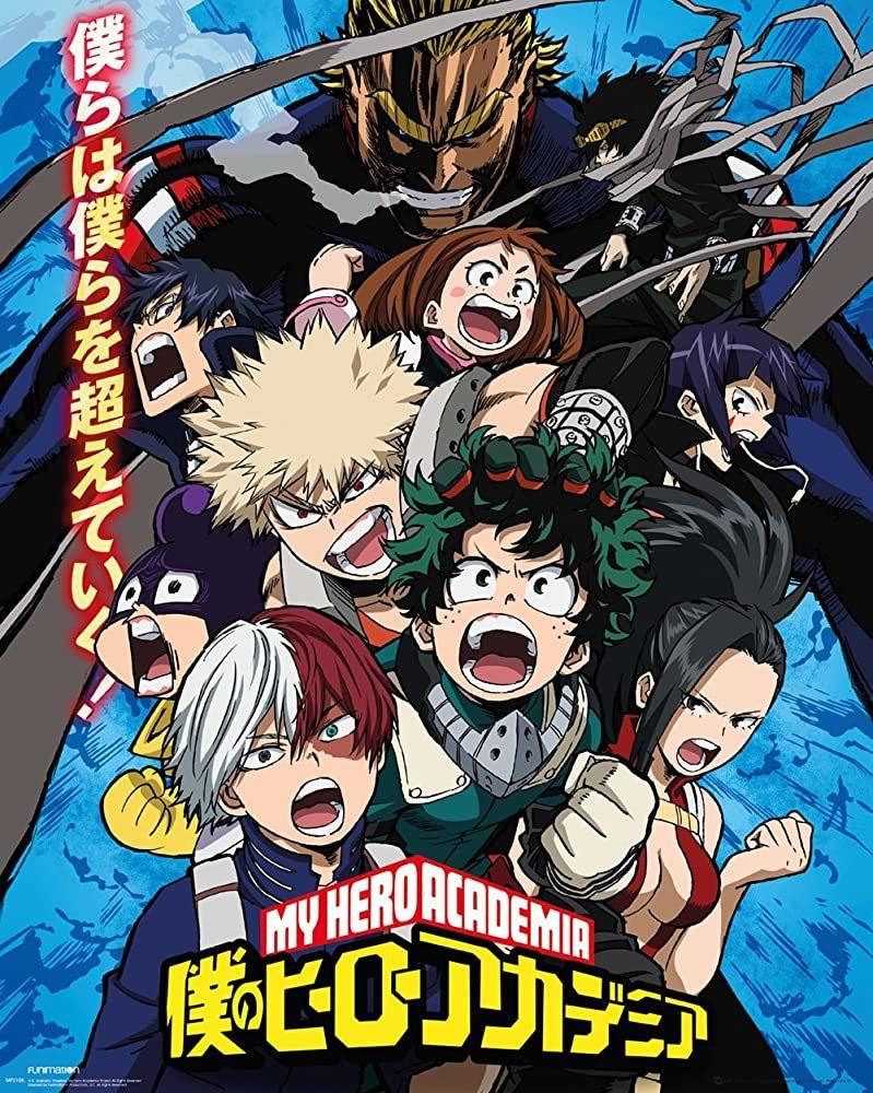 شاهد انمي Boku No Hero Academia الموسم 2 الحلقة 7 زي مابدك فيدي Hero Poster Hero Academia Season 2 My Hero