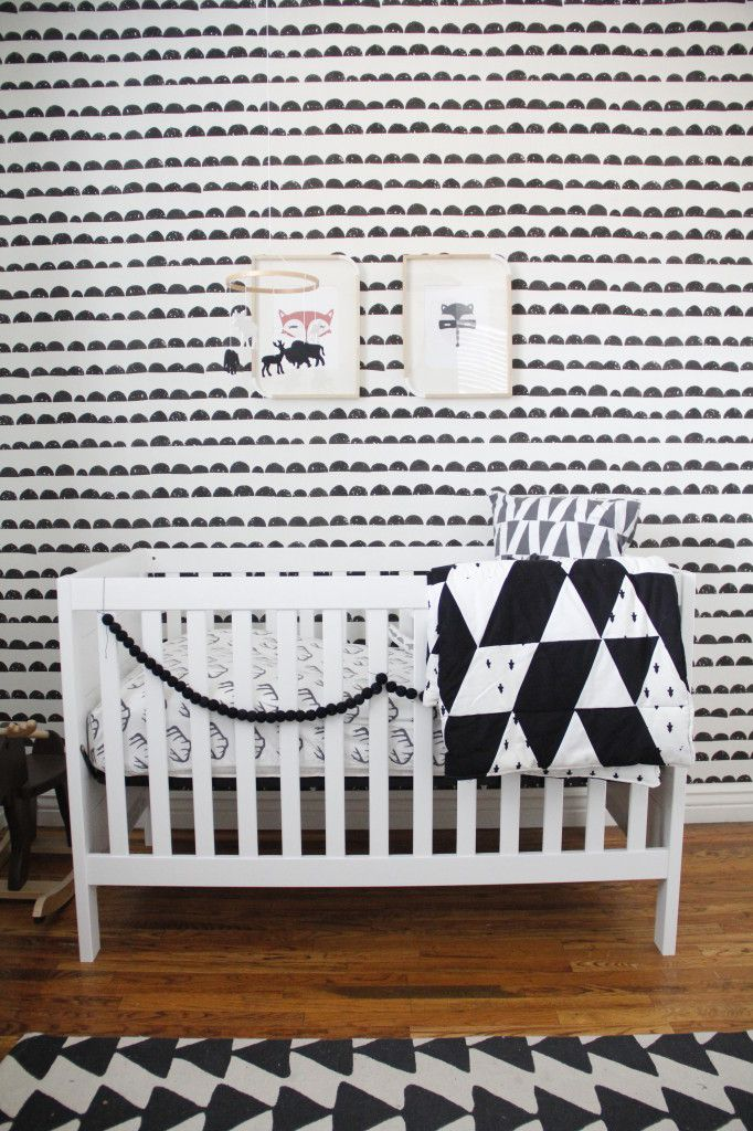 Project Nursery - Black and White Nursery Decor