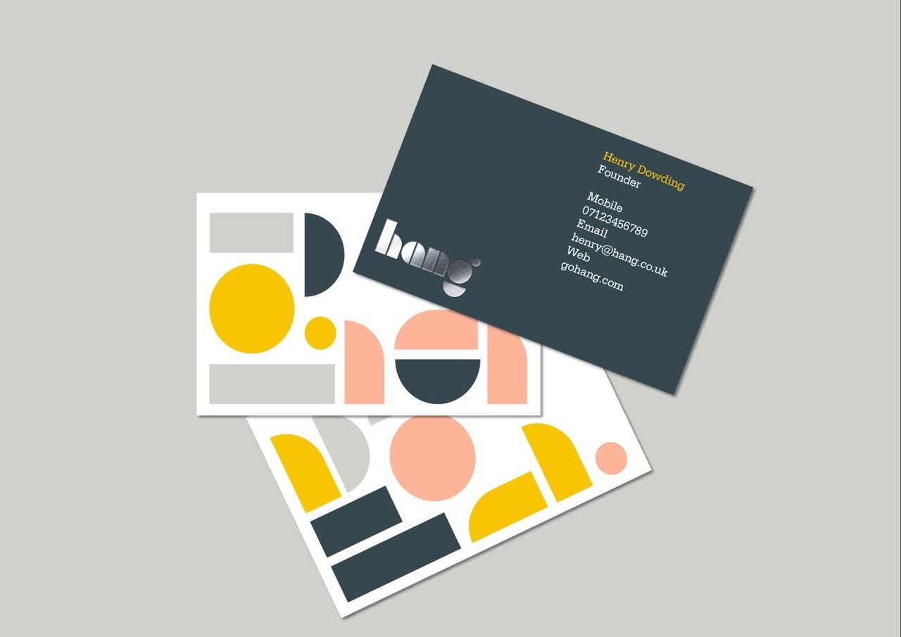 Hang branding explore business cards identity and more reheart Choice Image