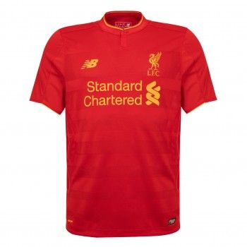 New Balance Liverpool Home Football Top Boys Shirt Age in Sporting Goods, Football  Shirts, English Clubs