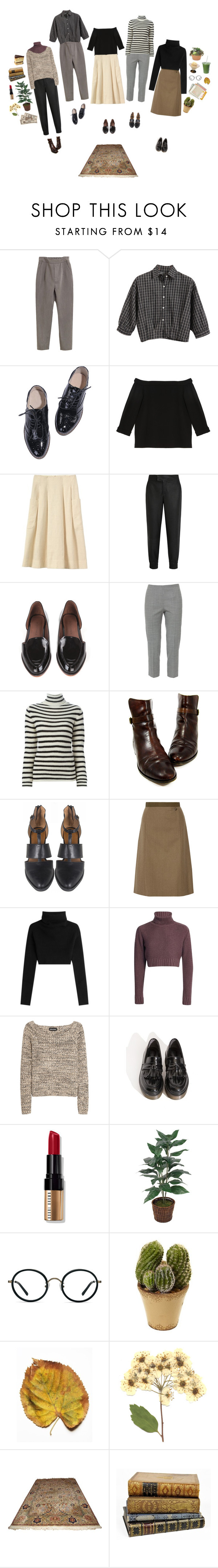 """Keepin' It Neutral"" by silentmoonchild ❤ liked on Polyvore featuring Chicnova Fashion, TIBI, Helmut Lang, Rachel Comey, Piazza Sempione, IRO, Ralph Lauren, Maison Margiela, Valentino and Sonia Rykiel"