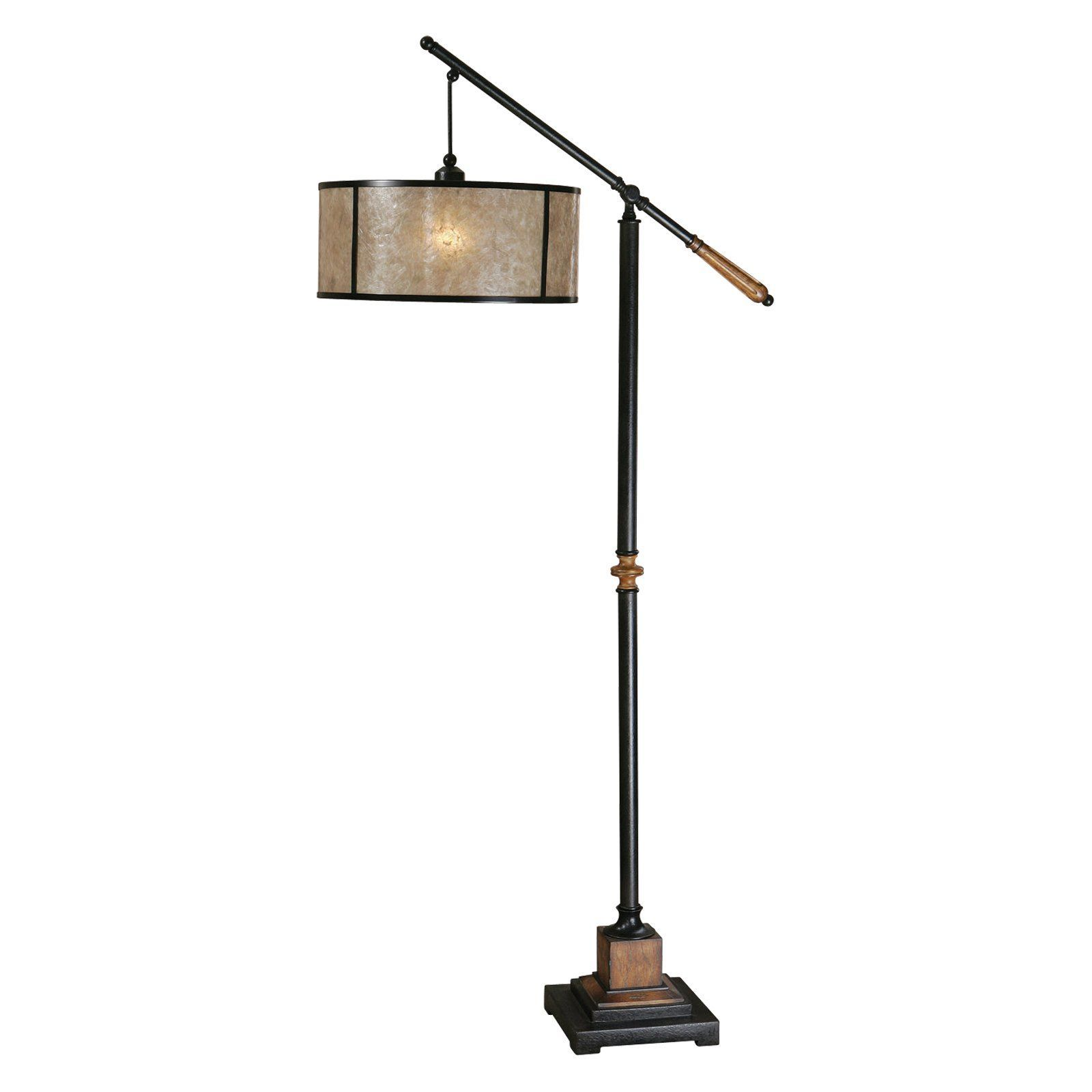 Uttermost Sitka Floor Lamp In Aged Black And Distressed Rustic Mahogany About The Mission Of Company Is Simple To Make Great