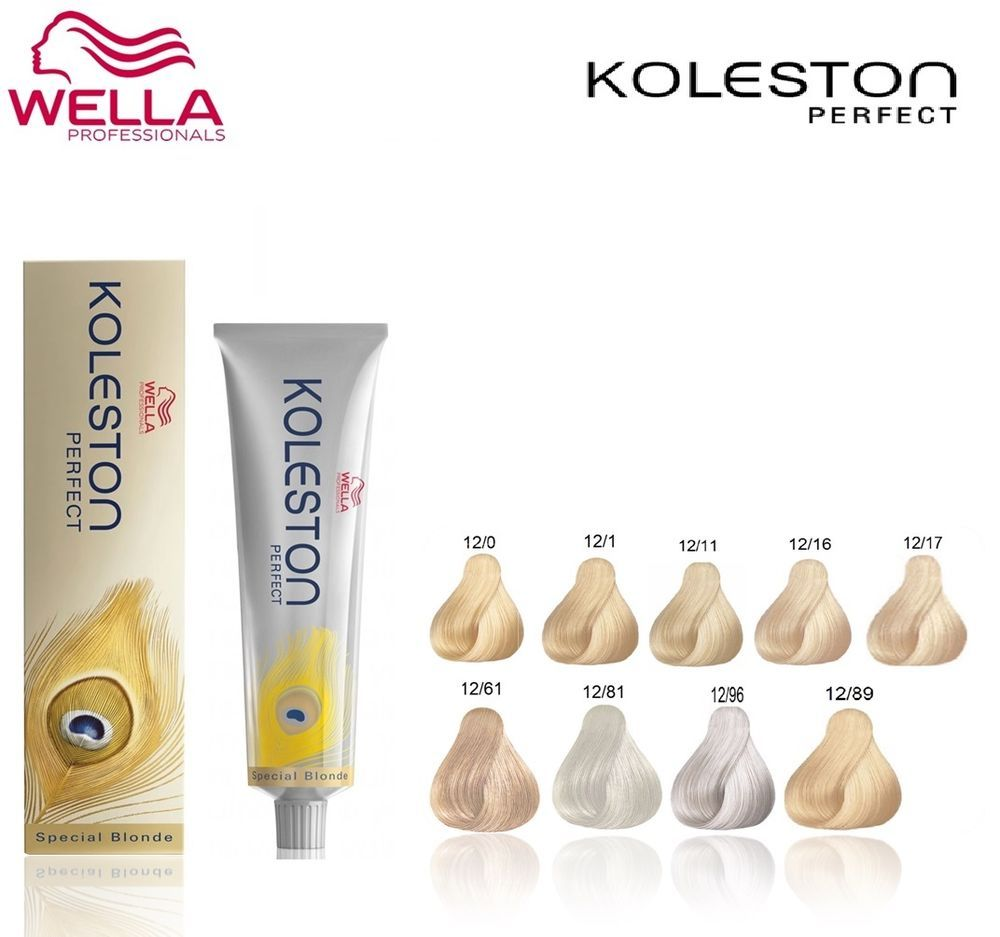 Wella Koleston Perfect Permanent Colour Dye Hair Color Special