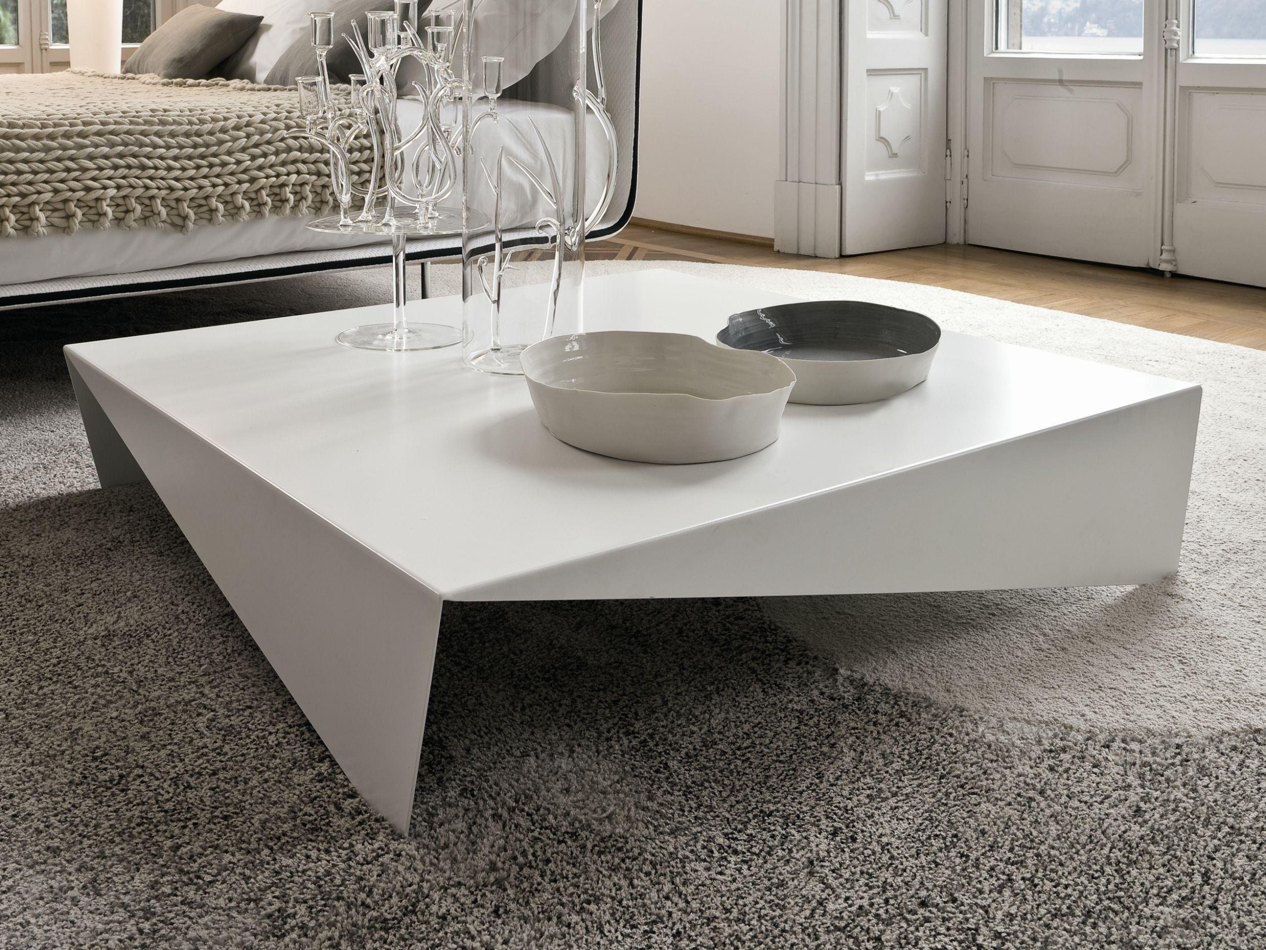 Table Basse Carree Voila By Bonaldo Design Max Piva Coffee