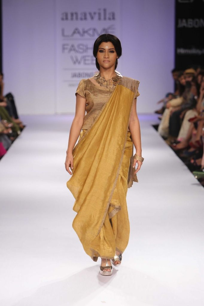 319e71c39fa78 Lakmé Fashion Week – Anavila at LFW WF 2014
