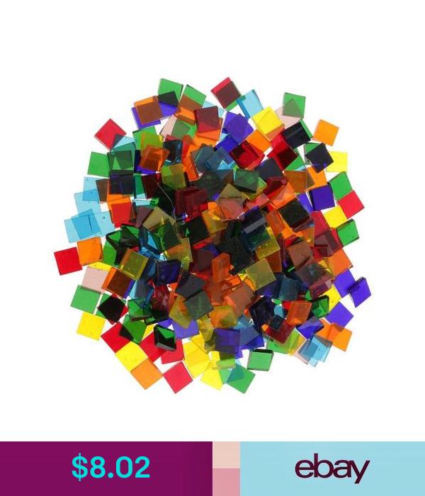 160g Multicolor Square Vitreous Glass Mosaic Tiles Tessera Diy Craft 10x10mm Mosaic Tile Art Mosaic Tiles Diy Mosaic Tiles Crafts
