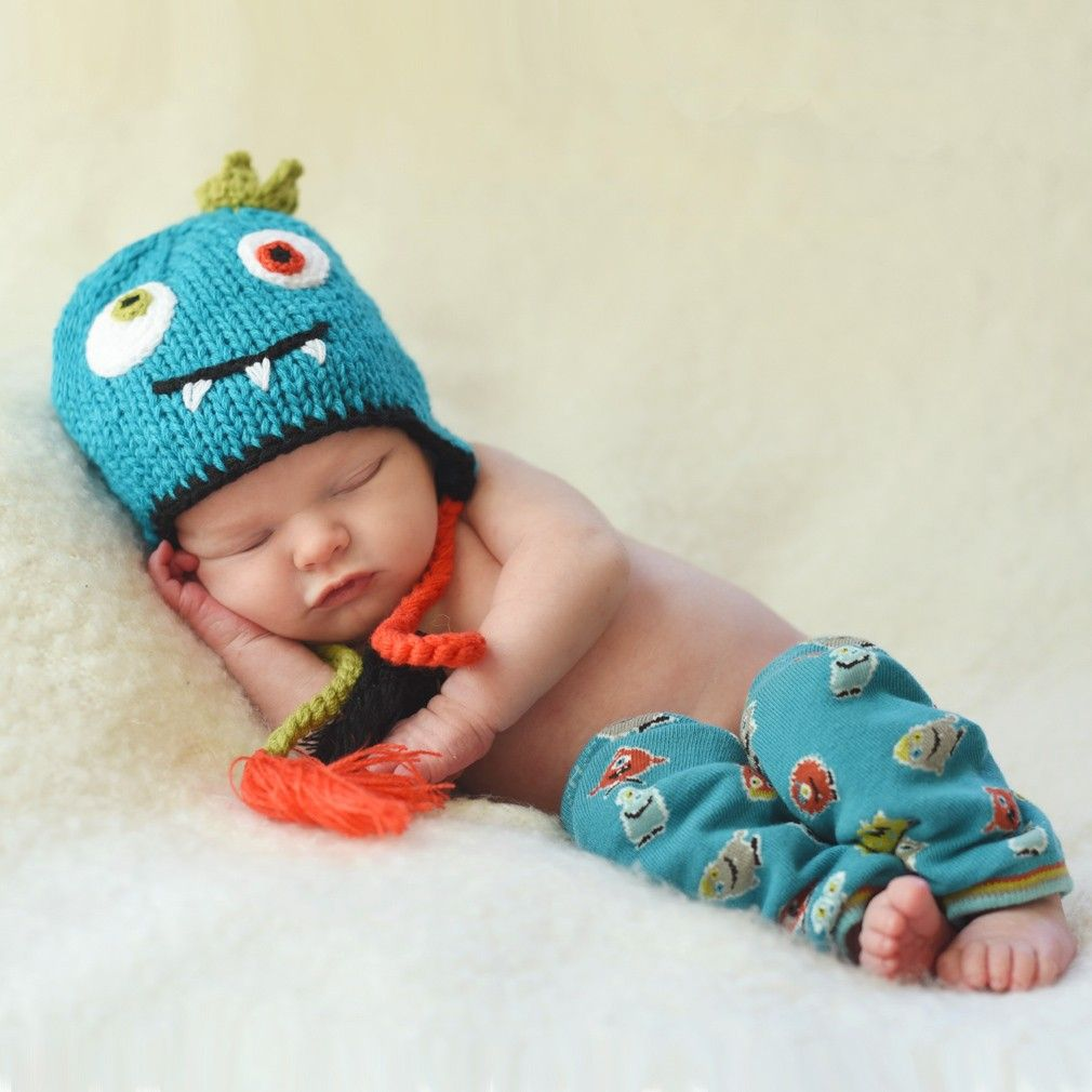 a7ad2c7e87c Monster Beanie Hat from Huggalugs  20. Matching legwarmers  10-12. ADORABLE!