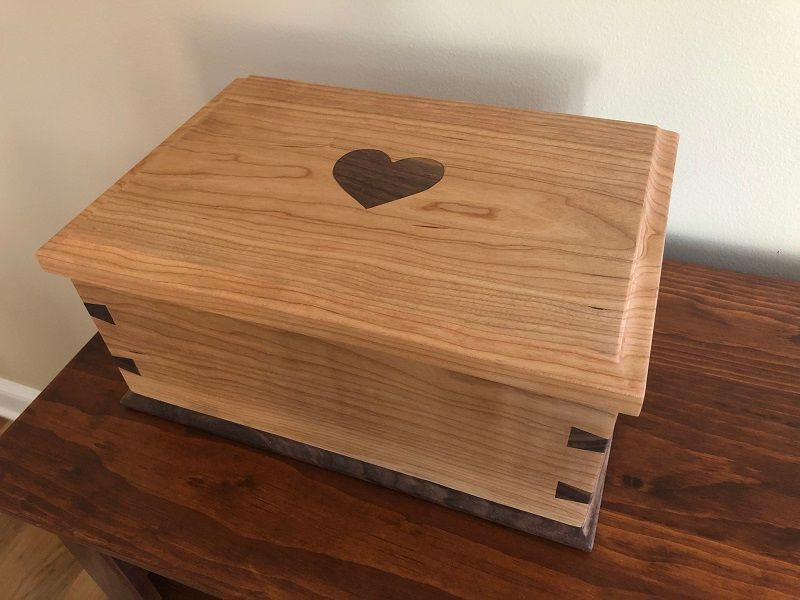 Jewelry Box From Jared Gentile In 2020 Projects Hardware Jewelry Box